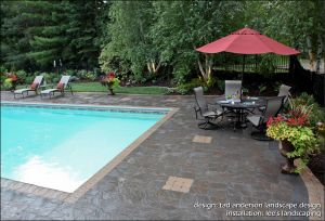 Pool and Landscape Design Lovely Pool Patio Renovation 1 Of 2 This Existing Swimming Pool