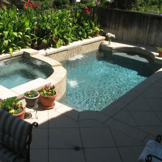 Pool Design for Small Spaces Unique Integrates Well with Patio Small Pool Designs