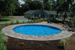 Pool Designs for Small Yards Best Of Gorgeous Semi Above Ground Pool thepoolfactory