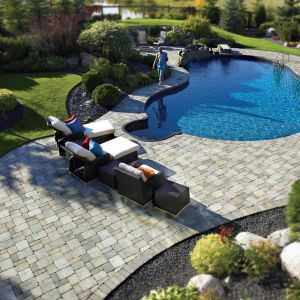 Pool Landscaping with Rocks Luxury Ready to Take A Dip In A Backyard Pool Surrounded by Roman