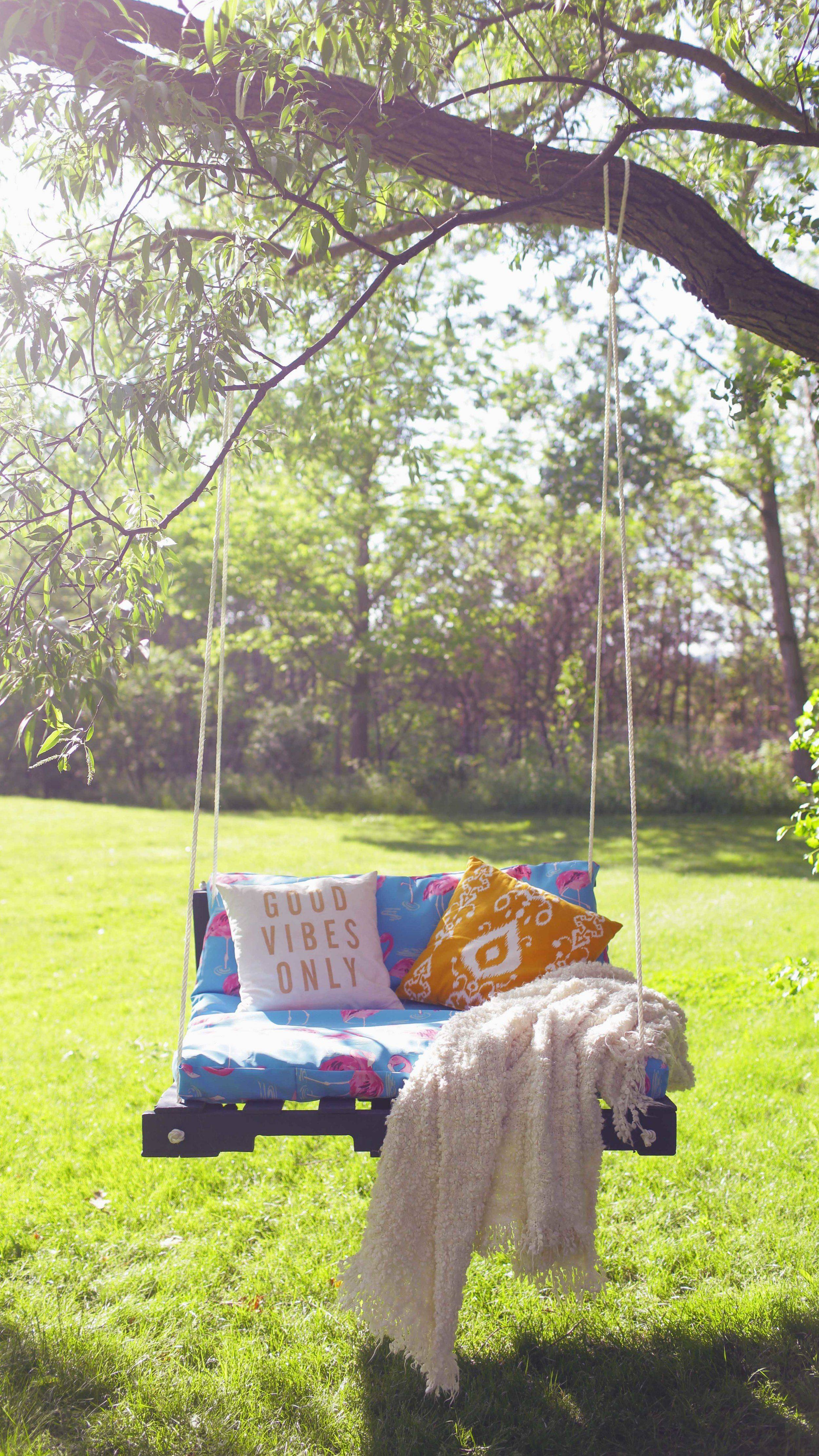 diy porch swing pallet