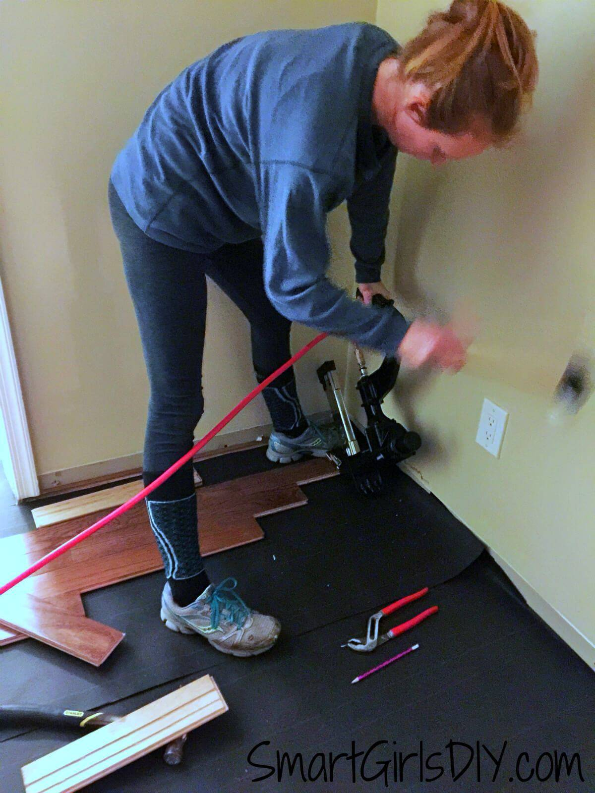 how much per square foot to install hardwood floors of upstairs hallway 1 installing hardwood floors with installing bruce hardwood floor diy