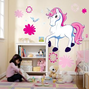 Princess Wall Decorations Bedrooms Awesome Cute Decal Could Paint It Lilianas Room