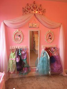 Princess Wall Decorations Bedrooms Elegant Princess Dress Up Storage Diy Cheap and Super Easy Frees