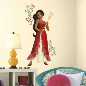 Princess Wall Decorations Bedrooms Inspirational Princess Elena Of Avalor Multicolored Peel and Stick Wall