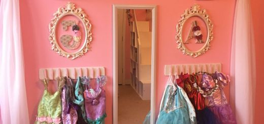 Princess Wall Decorations Bedrooms Lovely Princess Dress Up Storage Diy Cheap and Super Easy Frees