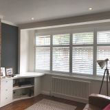 Putting In A Bay Window Inspirational Full Height Shutters Installed In An L Shaped Bay Window by