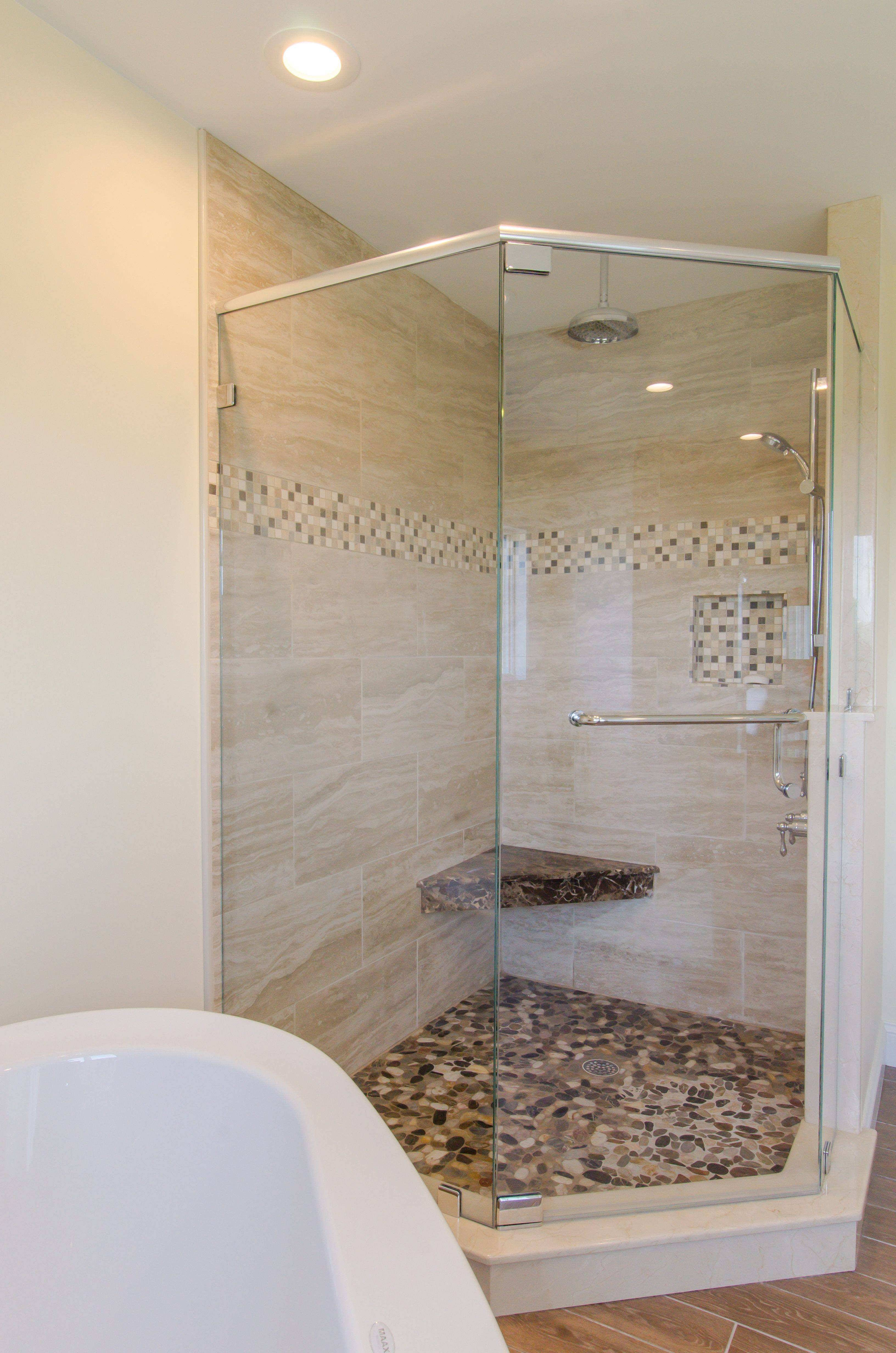 small shower best of shower ideas large custom tile shower with large tile of small shower