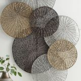 Round Metal Wall Decor Awesome Adele Metal Wall Art In 2019