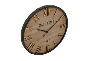 Round Metal Wall Decor Inspirational Wood Metal Wall Clock Products