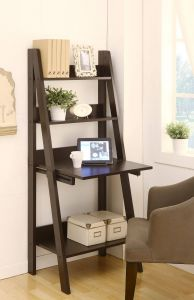 Rustic Ladder Shelf Luxury Stanton Ladder Style Writing Desk with Shelves