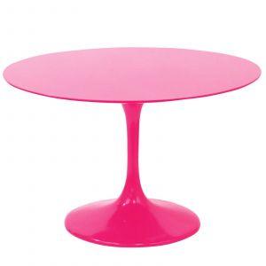 Saarinen Dining Elegant Pink Tulip Saarinen Table