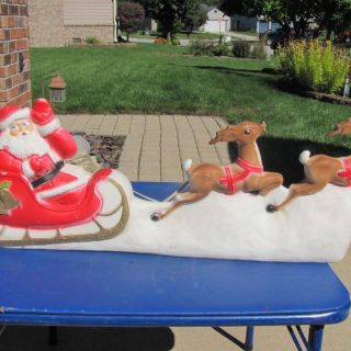 Santa Sleigh Outdoor Decoration Inspirational Details About 36