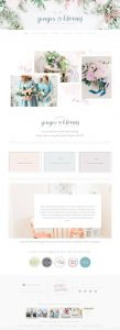 Shabby Chic Website Design Awesome 10 Best Example Squarespace Websites • Feminine Edition