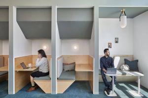 Shared Workspace Ideas Unique Peek Slack Hq Work Spaces In 2019