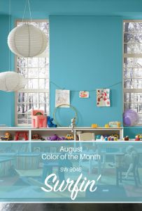 Sherwin Williams Home Decor Christmas Best Of Sherwin Williams August Color Of the Month Surfin Sw 9048