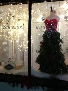 Shop Front Christmas Decorations Lovely Fantasy Christmas Dress Made From Live Greenery In