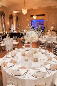 Silver Glitter Wedding Decorations Awesome Gorgeous Winter Sparkly Wedding Centerpieces In White and