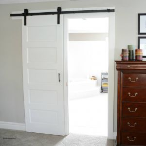 Sliding Barn Doors for Closets New Barn Door Reveal Indoor Living