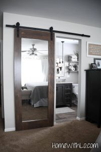 Sliding Mirror Doors Lovely Sliding Mirror Door Perfect for the Farmhouse Style Home