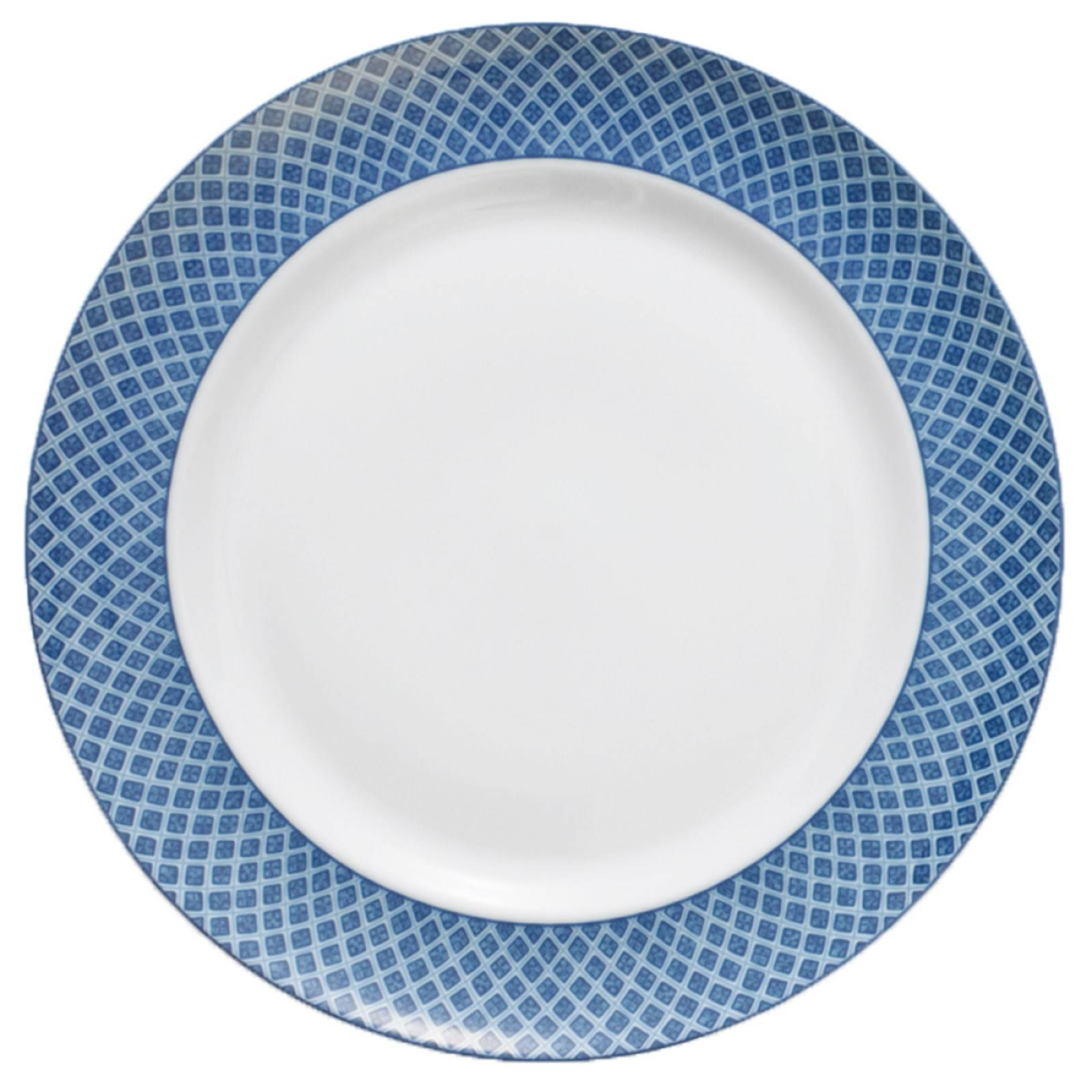mottahedeh blue dragon charger presentation plate