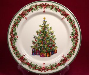 Small Decorative Christmas Plates Unique Christmas China Christopher Radko Christmas Tree Collected