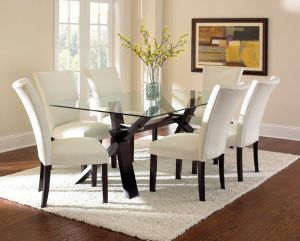 Small Glass Dining Table Luxury Berkley 7 Piece Dining Set