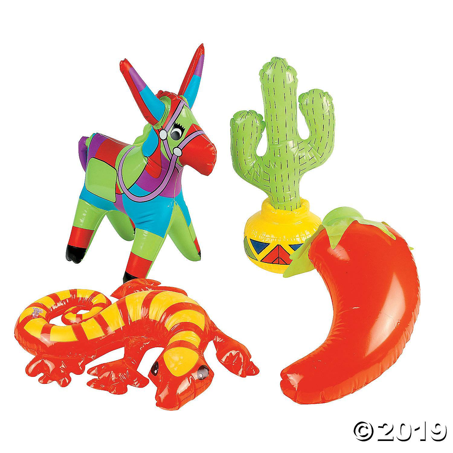 inflatable fiesta decorations assortment 34 1027