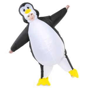 Small Inflatable Halloween Decorations Fresh Spooktacular Creations Inflatable Costume Penguin Air Blow Up Deluxe Halloween Costume Adult Size 5 5 to 6 3 White