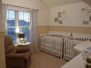 Small Nursery Ideas New Two toned Walls Maybe My Bedroom Future Home