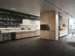 Snaidero Kitchens Design Inspirational Sneidero לשים לב ליחידה השקופה המונמכת מעל למשטח העבודה