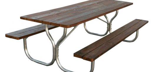 Stainless Steel Table Frame Inspirational Aluminum Picnic Table Frame Frame Only – Rosendale Picnic