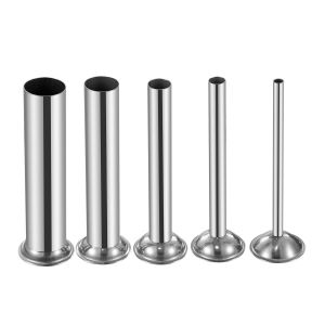 Stainless Steel top Dining Table Inspirational 5 Sizes Stainless Steel Funnels attachment for Manual Sausage Stuffer