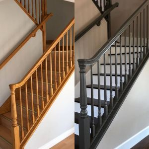 Staircase Railings Inspirational before Left Laminate Stair Tread with Aluminum Nosing