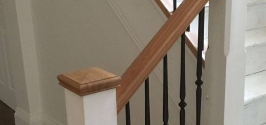 Staircase Railings Lovely Abbott Wade S Buckingham Spindles In Black with White Stop