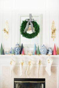 Star Decorations for House Elegant Christmas Mantel Ideas How to Style A Holiday Mantel