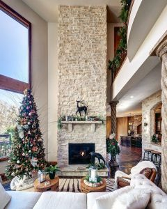 Stone Veneer Over Brick Fireplace Luxury Indoor Project Idea for Your Fireplace Profile Canyon