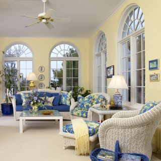 Sunroom Accessories Best Of A Blue and Yellow Sunroom for My Canaries to Enjoy as Well