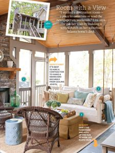 Sunroom at the Brick Beautiful This Room is Actually A Suspended Deck Cool