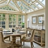 Sunroom Dining Room Ideas Lovely Glass Roof In the Traditional Dining Room