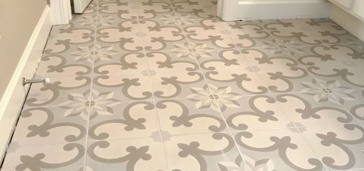 Tile Flooring Ideas Fresh How Cool is This Tile Floor Updating Just the Floor Still