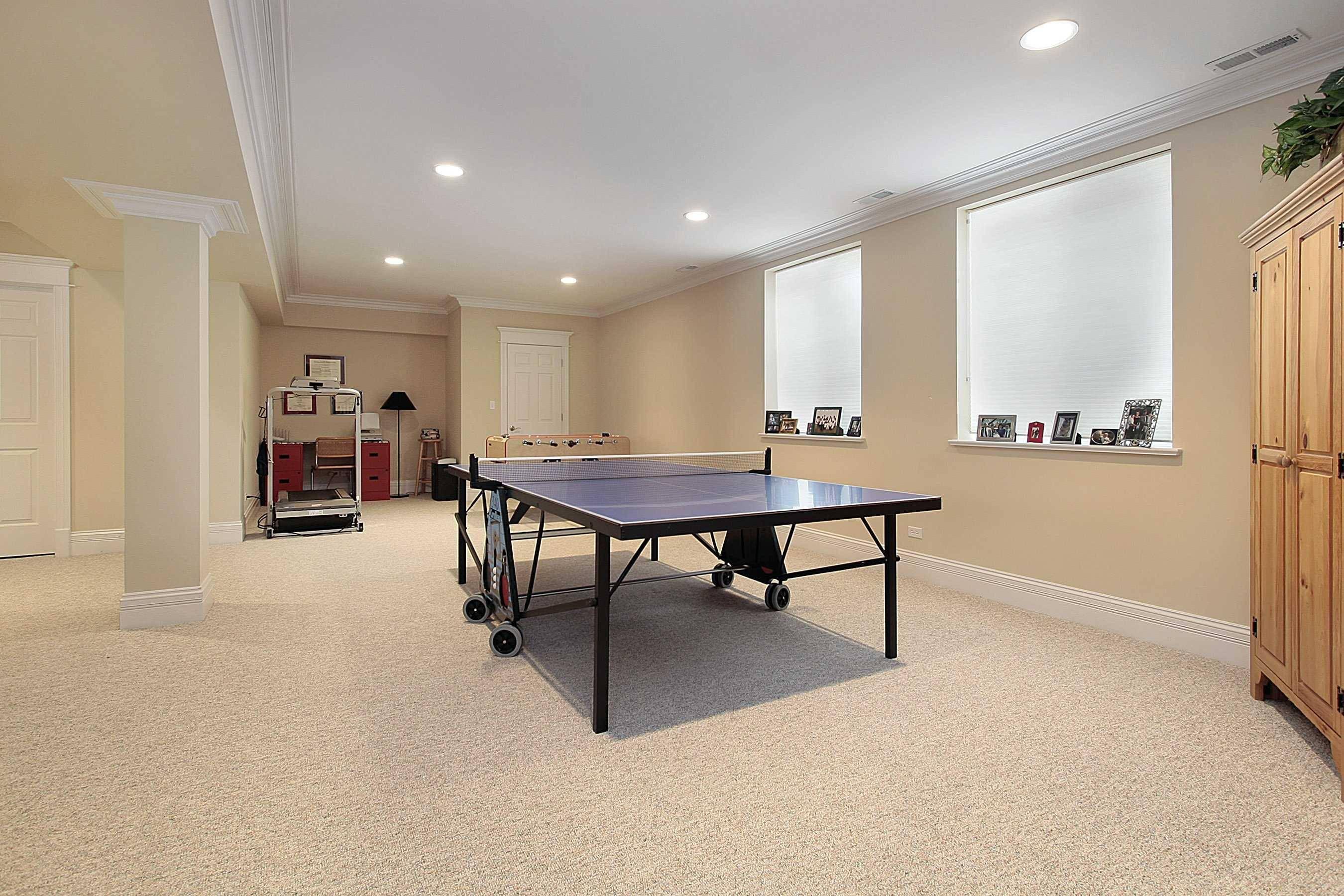 game room basement remodel 3
