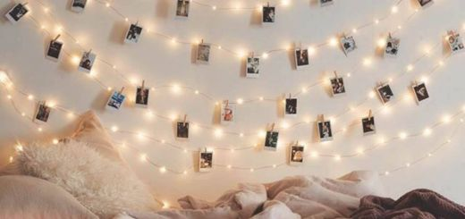Tumblr Bedroom Light for Teenagers Best Of Polaroid Style Instagram Wall Art with Twinkle Lights