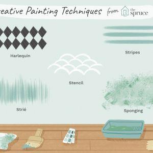Two tone Paint Ideas Best Of 10 Decorative Paint Techniques for Your Walls