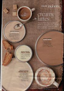 Two tone Paint Ideas Fresh Cream Latte Paint Colors