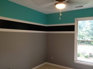 Two tone Room Paint Fresh Final Product Teenage Boys Room Colors for A Swimmer