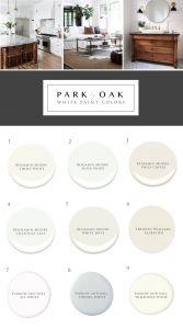 Two tone Room Paint Fresh the Right White Park & Oak Design