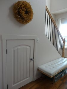 Under Stairs Ideas Lovely Half Door
