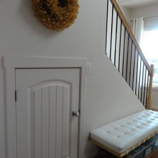 Under Stairs Ideas Lovely Half Door