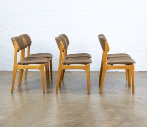 Unique Dining Chairs Lovely Set Of 6 Model 49 Dining Chairs by Erik Buch for Od M¸bler